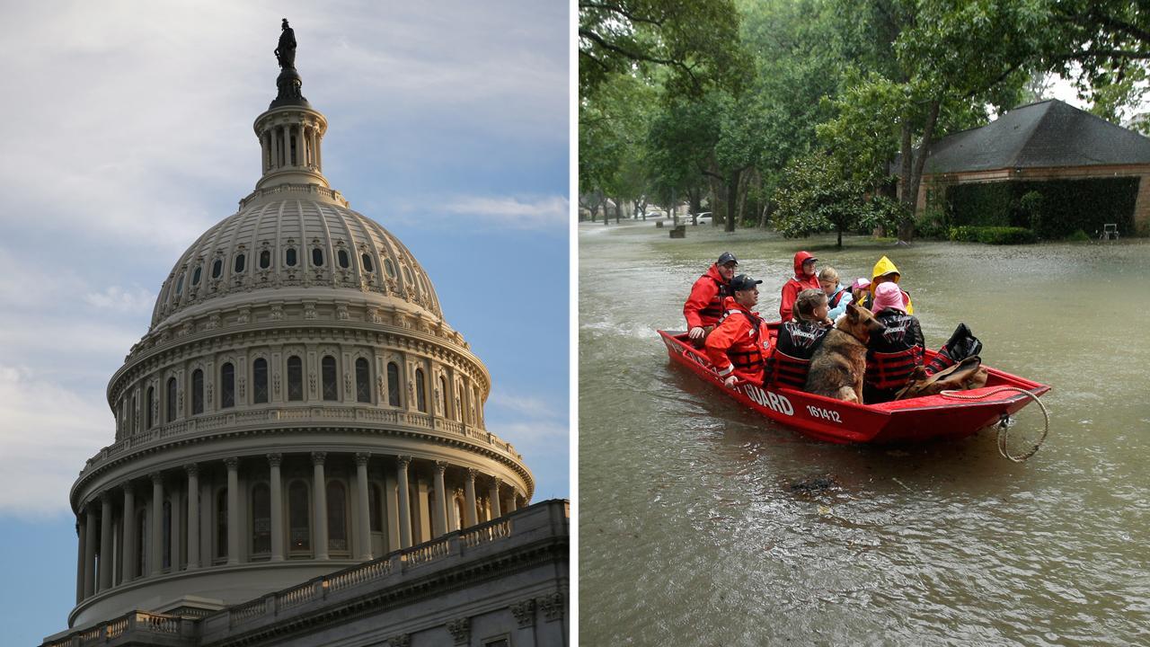Harvey aid debate complicates long congressional to-do list