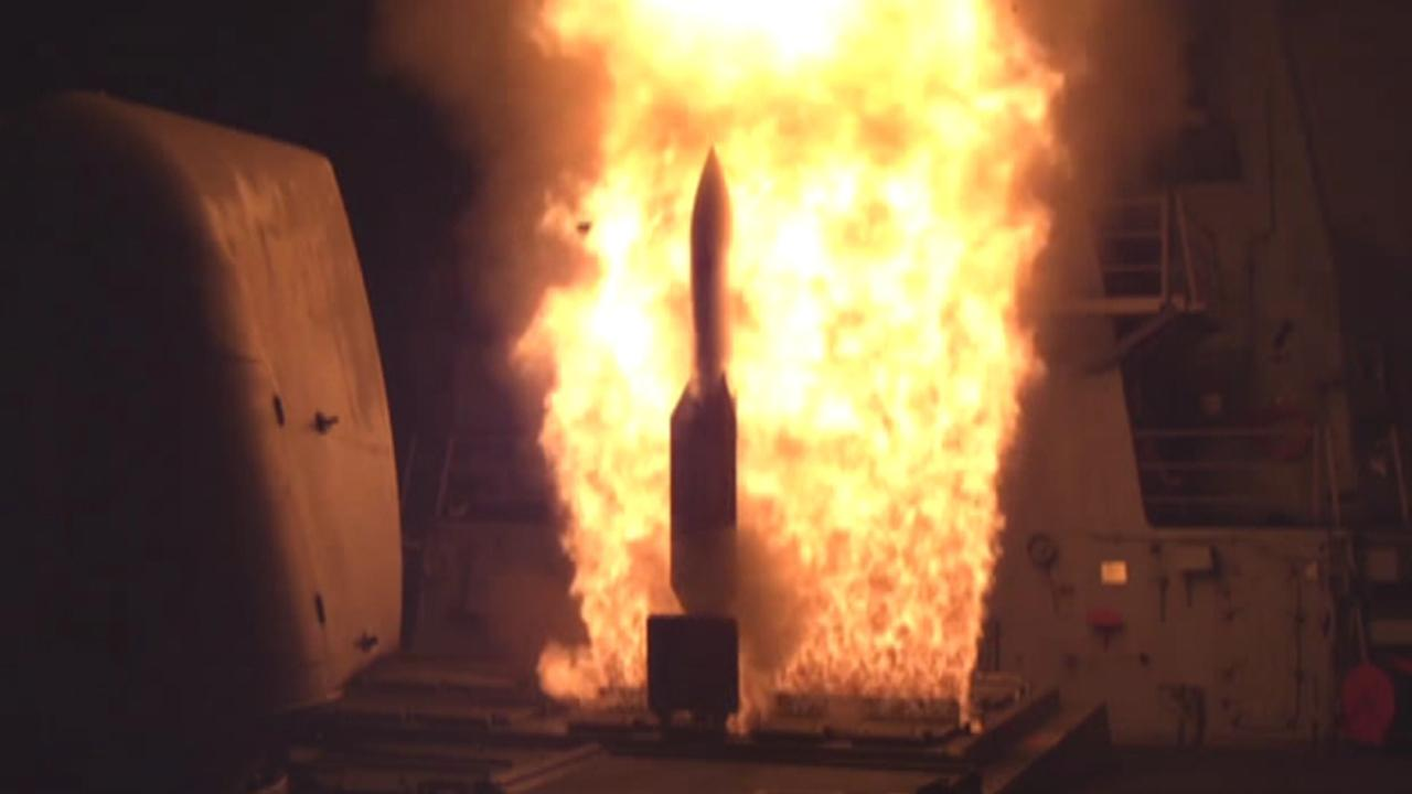 Successful test: US shoots down ballistic missile