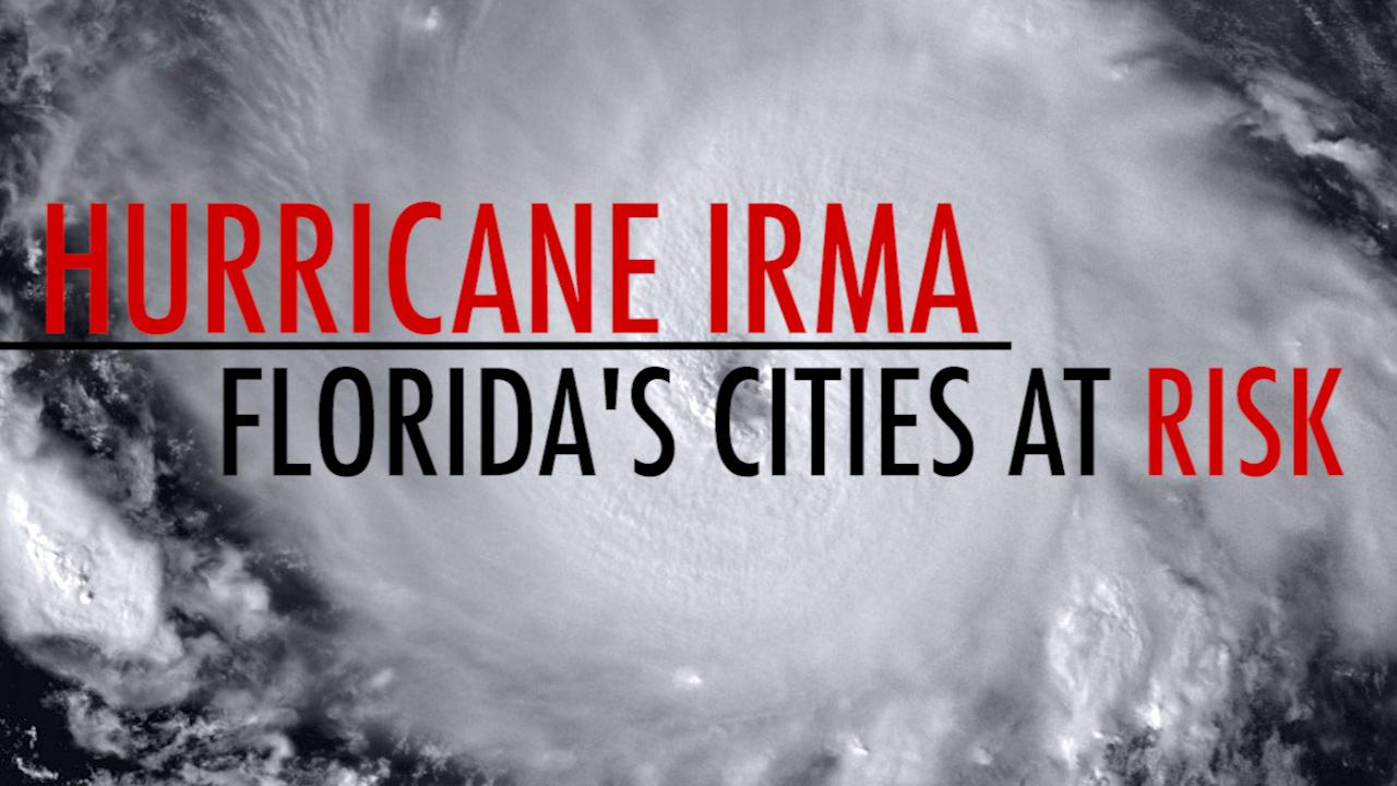Hurricane Irma: Florida's cities at risk