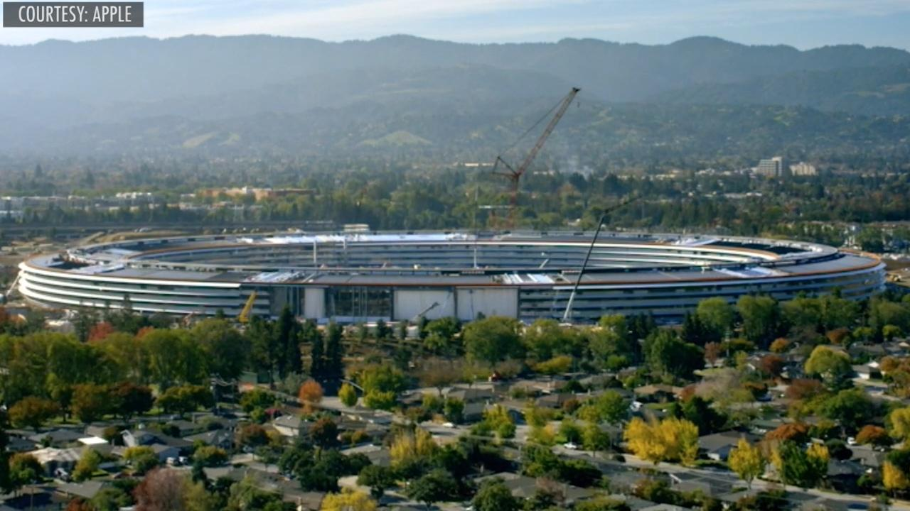 Apple Park is officially open in time for the launch of its new iPhone X.  Envisioned by late Apple founder and CEO Steve Jobs, the $5 billion, 175-acre corporate headquarters houses 12,000 employees, visitor center, café, Apple store and Steve Jobs Theater.