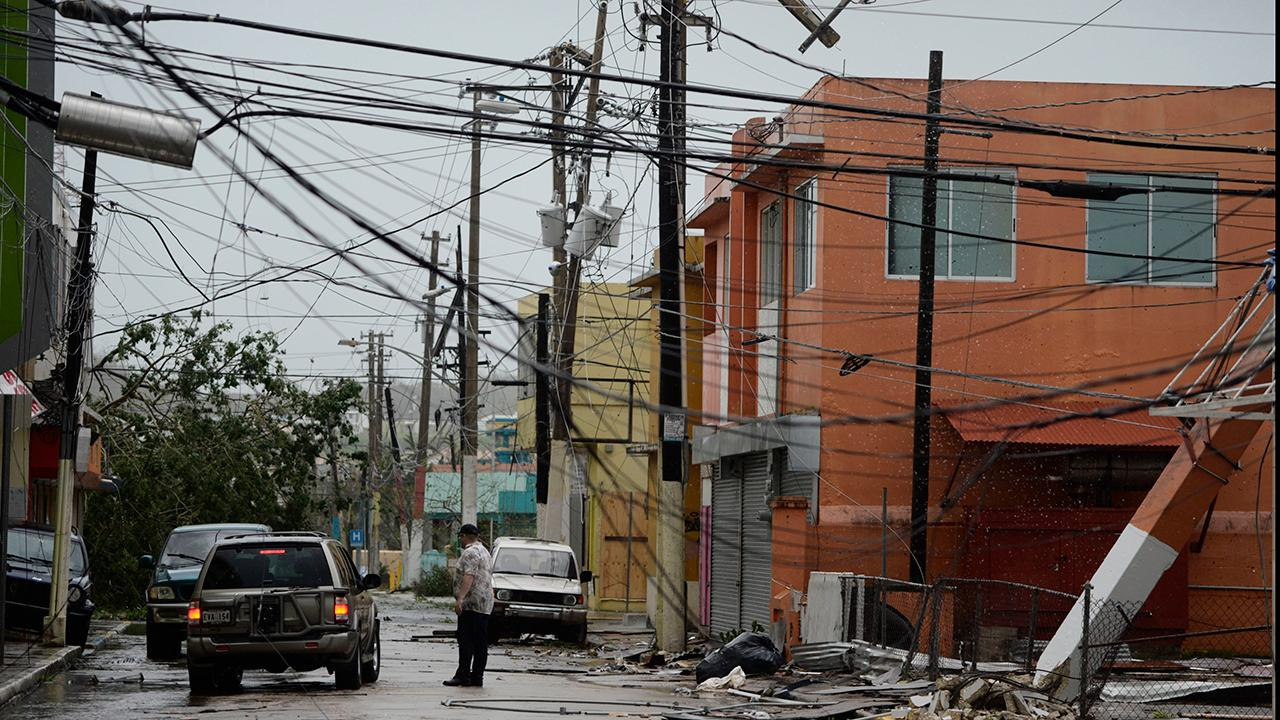 The entire island of Puerto Rico is without power