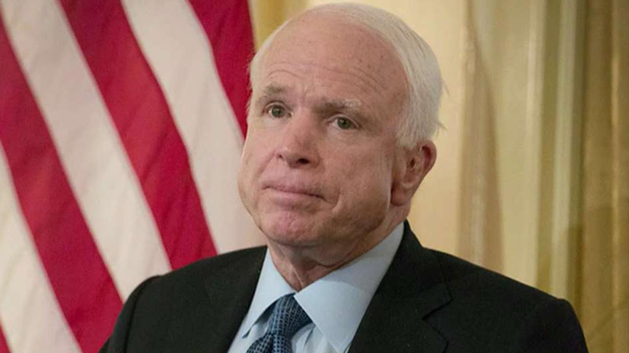McCain comes out against ObamaCare overhaul, dealing blow to GOP's repeal hopes