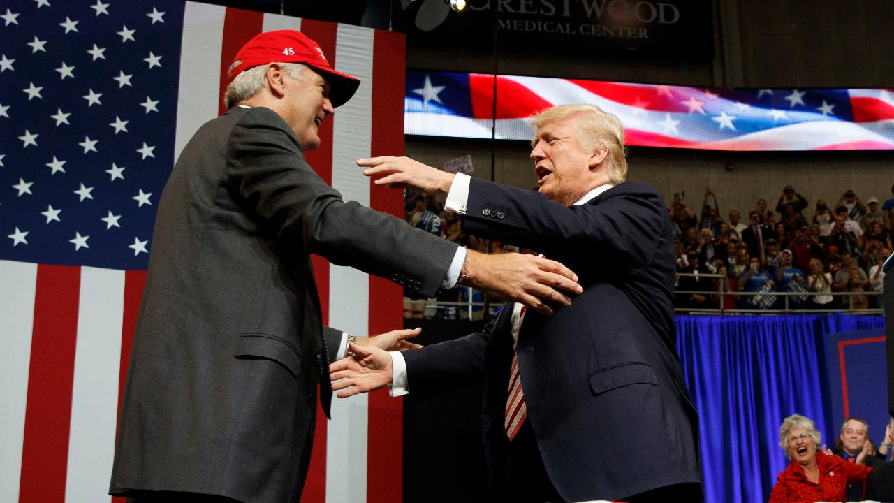 Alabama rally: Trump campaigns in last-ditch effort for Senate candidate Luther Strange