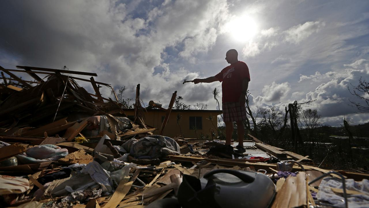Hurricane victim tells of 'total devastation' in Puerto Rico