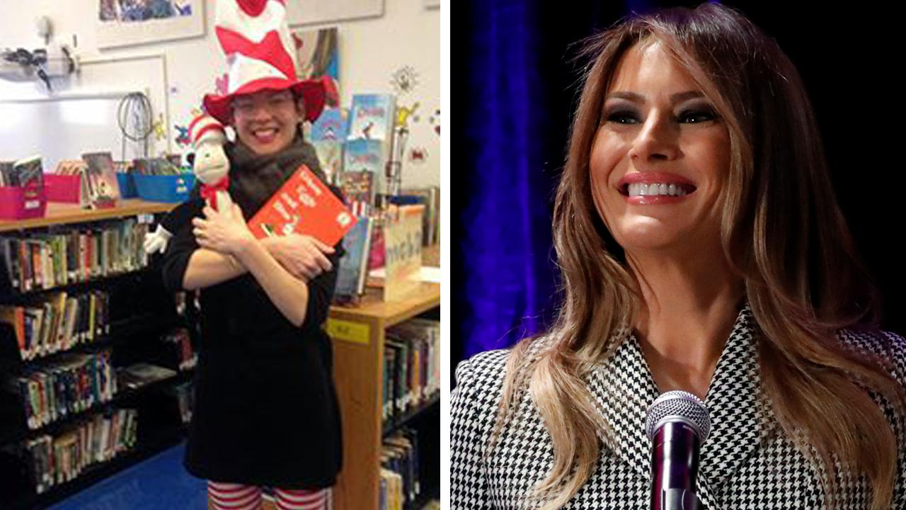 Melania Trump fires back at librarian who rejected gift of Dr. Seuss books as 'racist'