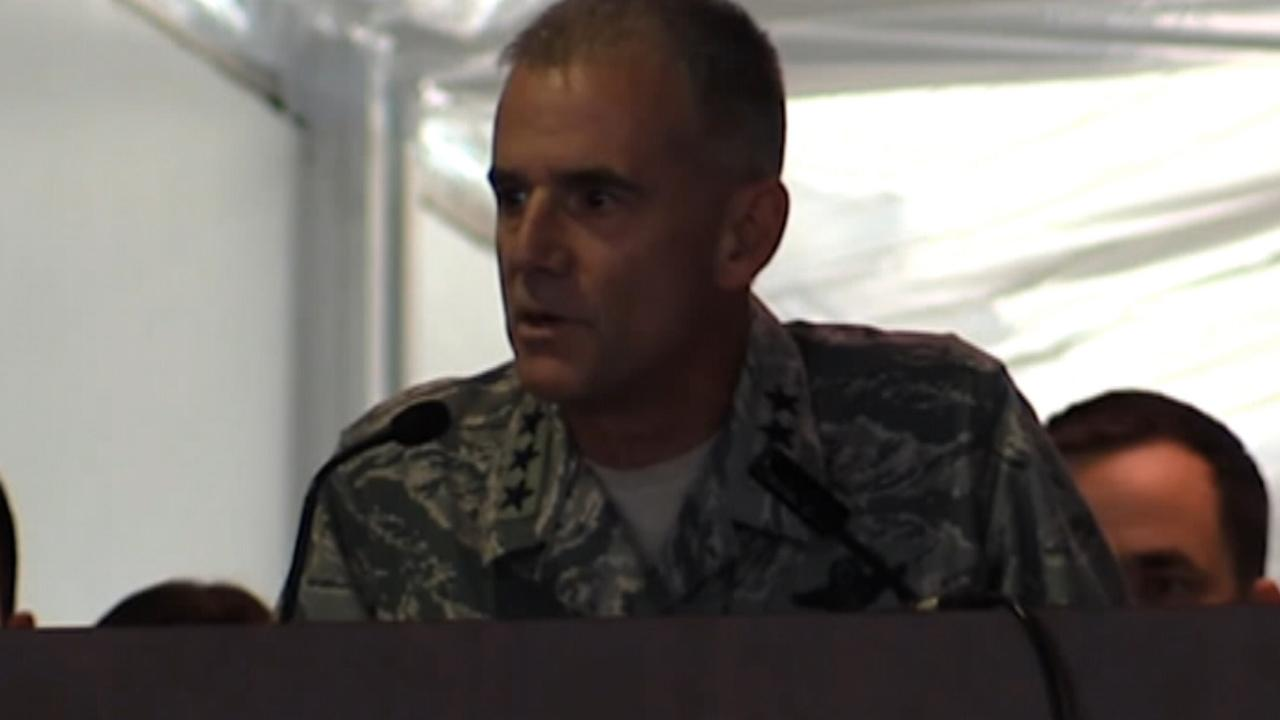 US Air Force Academy Head strong anti-racism speech