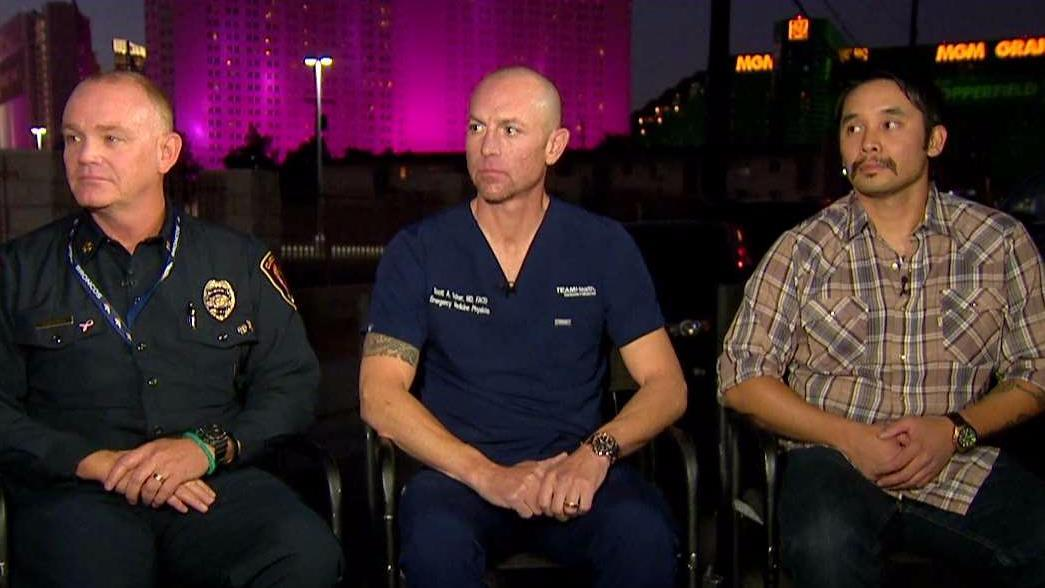 Las Vegas doctor: We saved every life possible