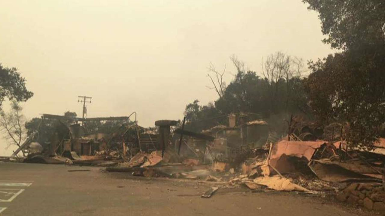 Paradise Ridge Winery co-owner shares update on devastation caused by fires.
