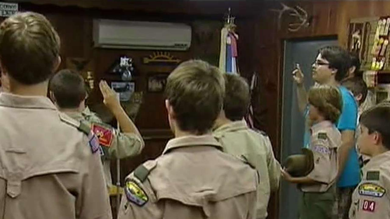 Boy Scouts' decision to admit girls sparks debate