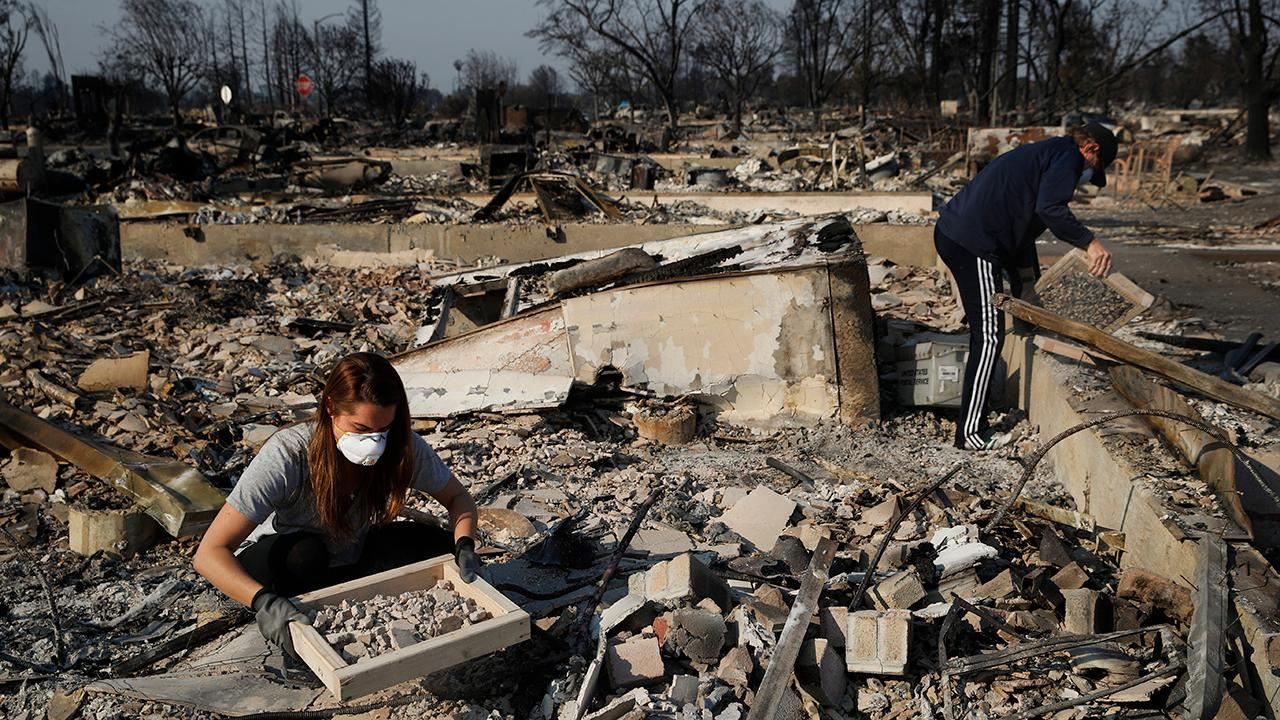 Residents starting to return home after Calif. wildfires