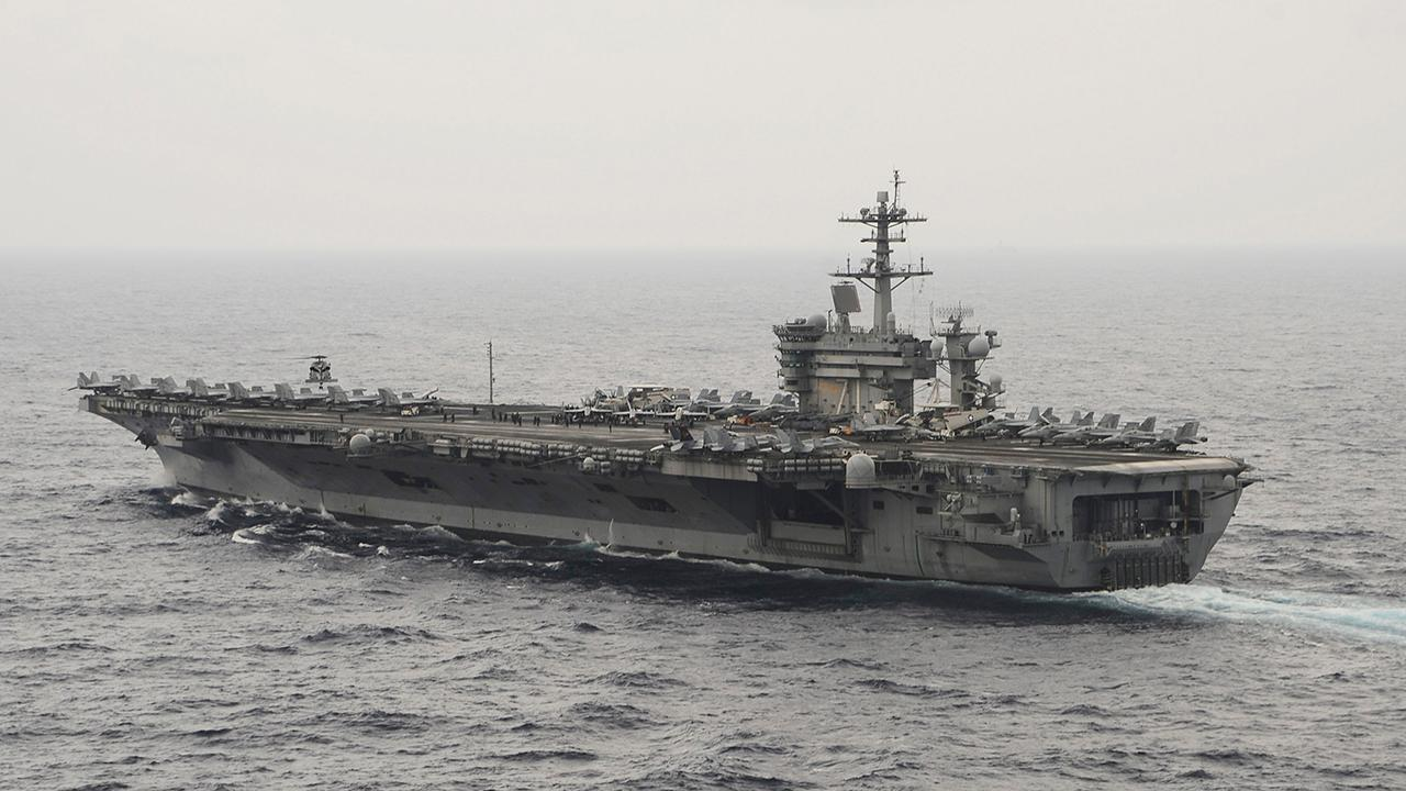 Second US aircraft carrier enters the Western Pacific