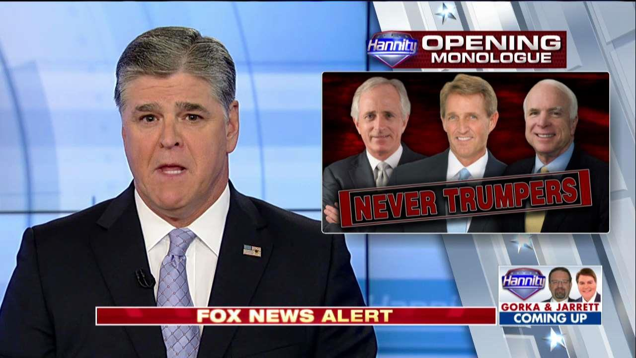 Hannity on Jeff Flake