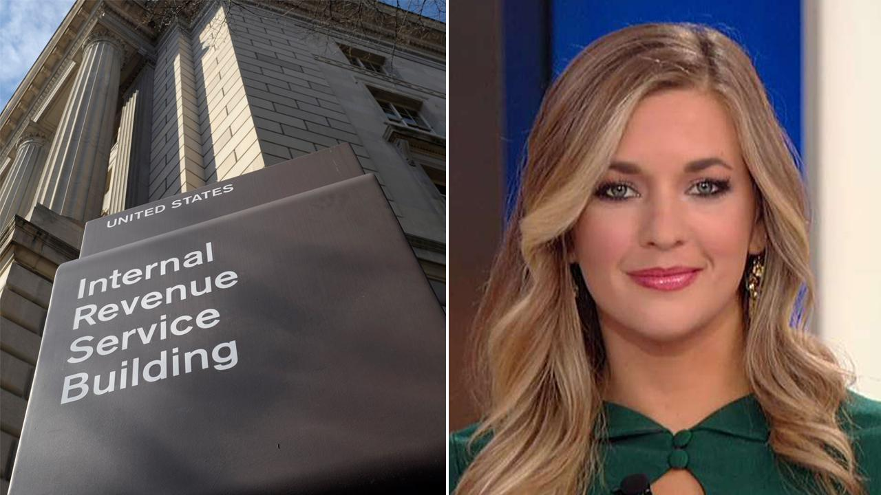 Katie Pavlich on IRS apology to targeted groups