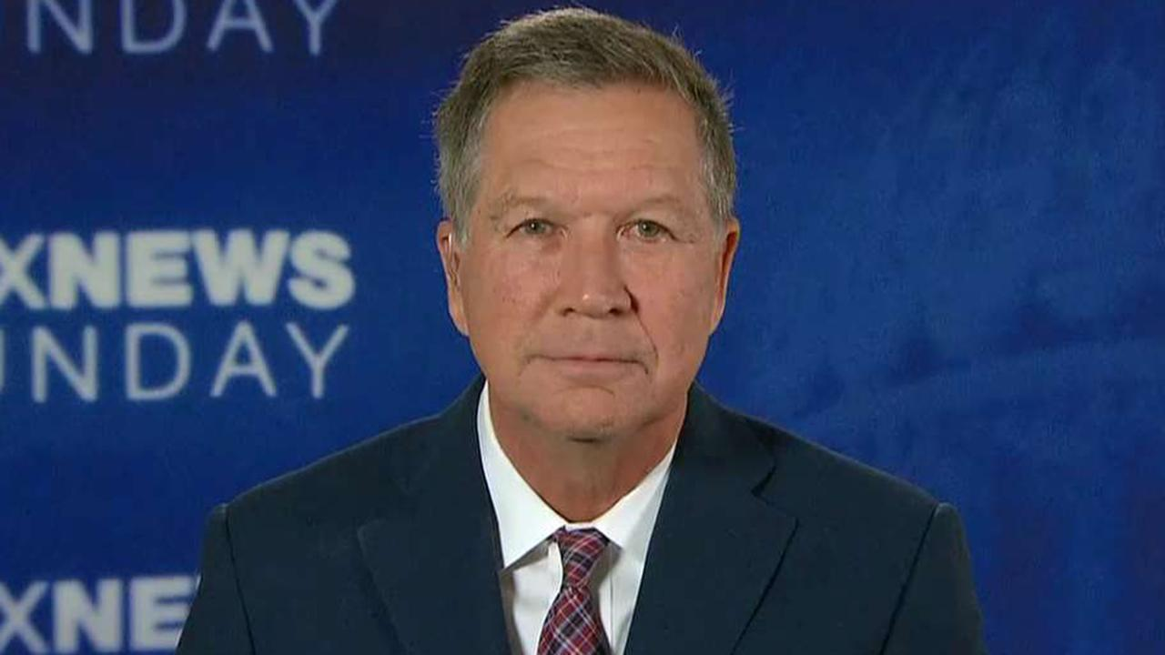 Gov. Kasich on Republican attacks on President Trump