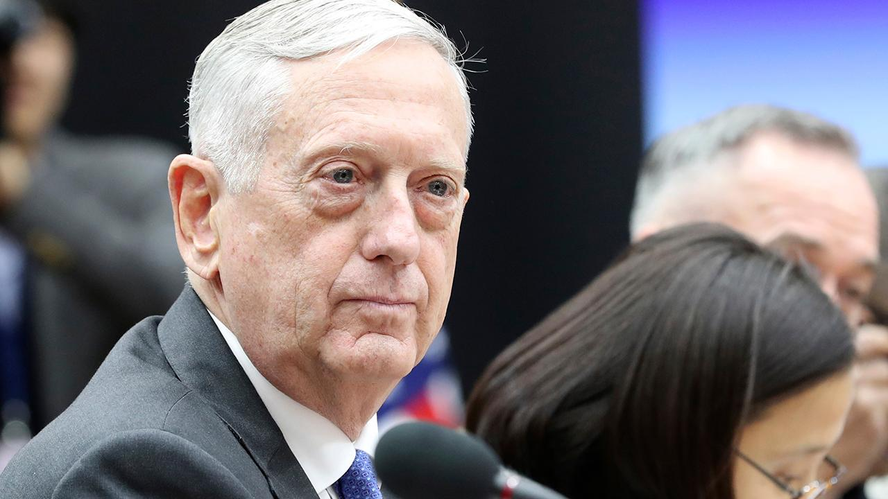 Mattis warns all options on the table against North Korea
