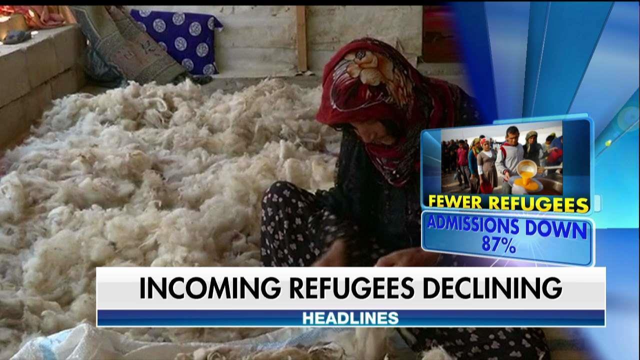 Refugee Admittance Down Under Trump