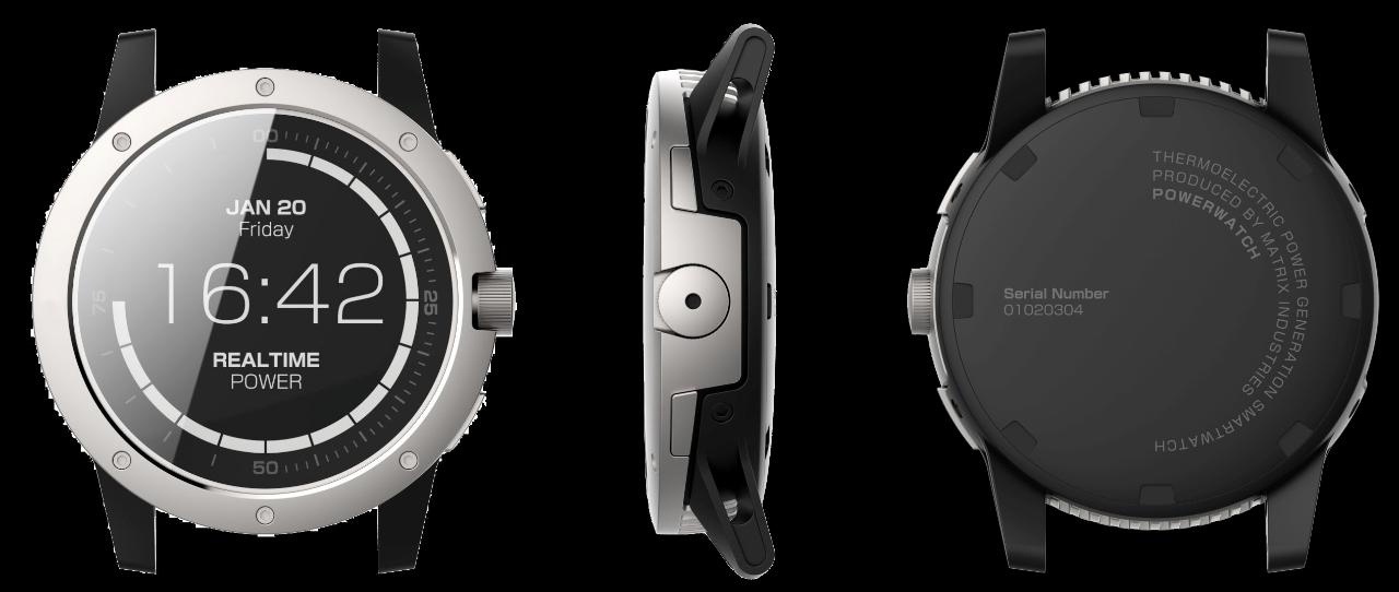 PowerWatch demo: How the first no-charge smartwatch works
