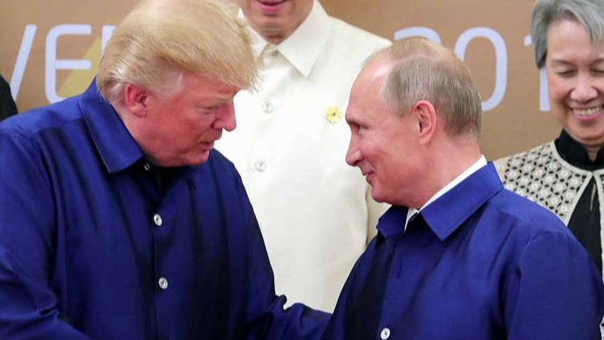 Trump tweets 'Russia can greatly help' US after calling ex-intel leaders 'political hacks'