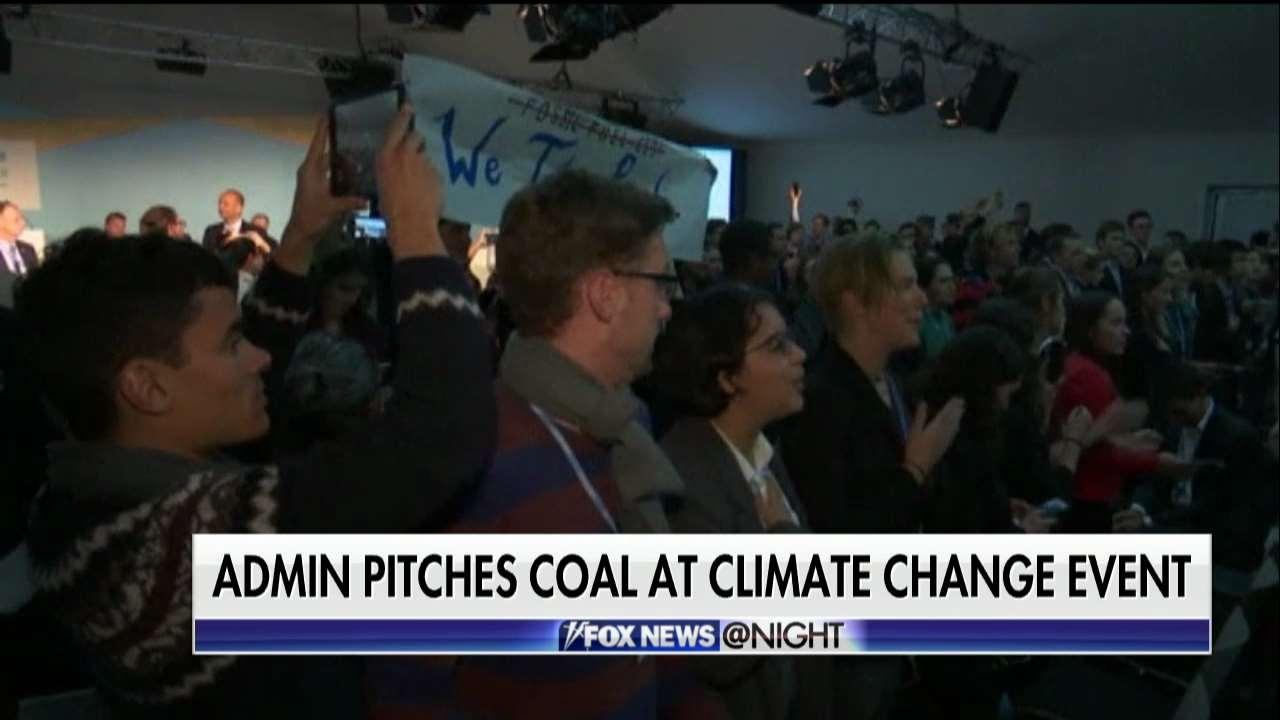 Trump Admin Tries to Promote Coal at Climate Change Conference