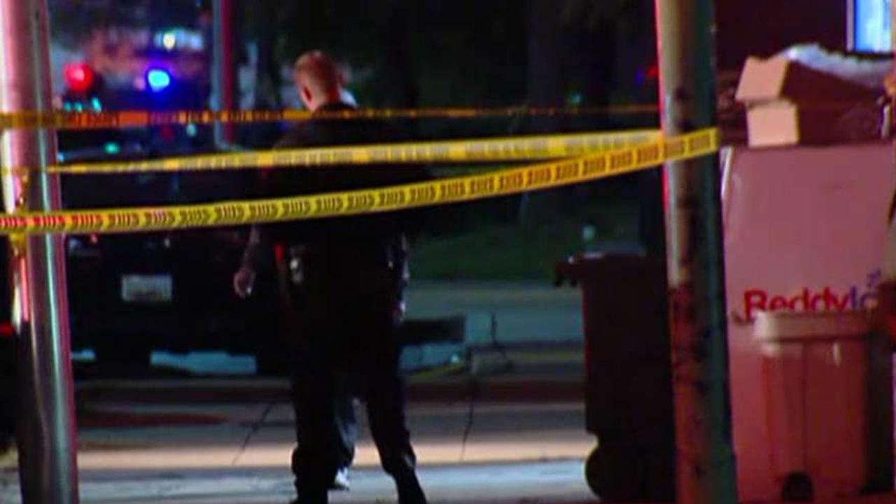 Manhunt intensifies for cop murderer in Baltimore