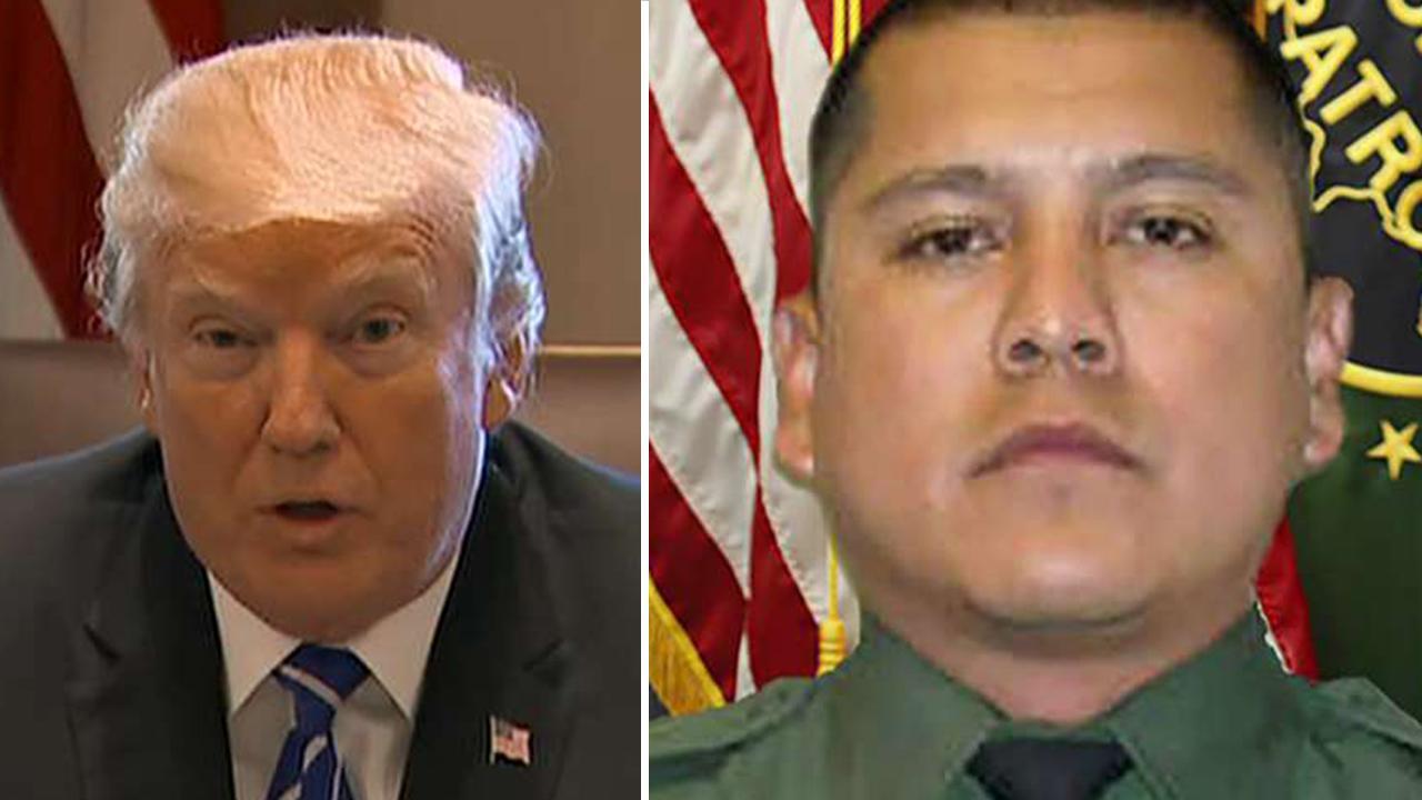 Does Border Patrol agent's murder prove Trump's case?