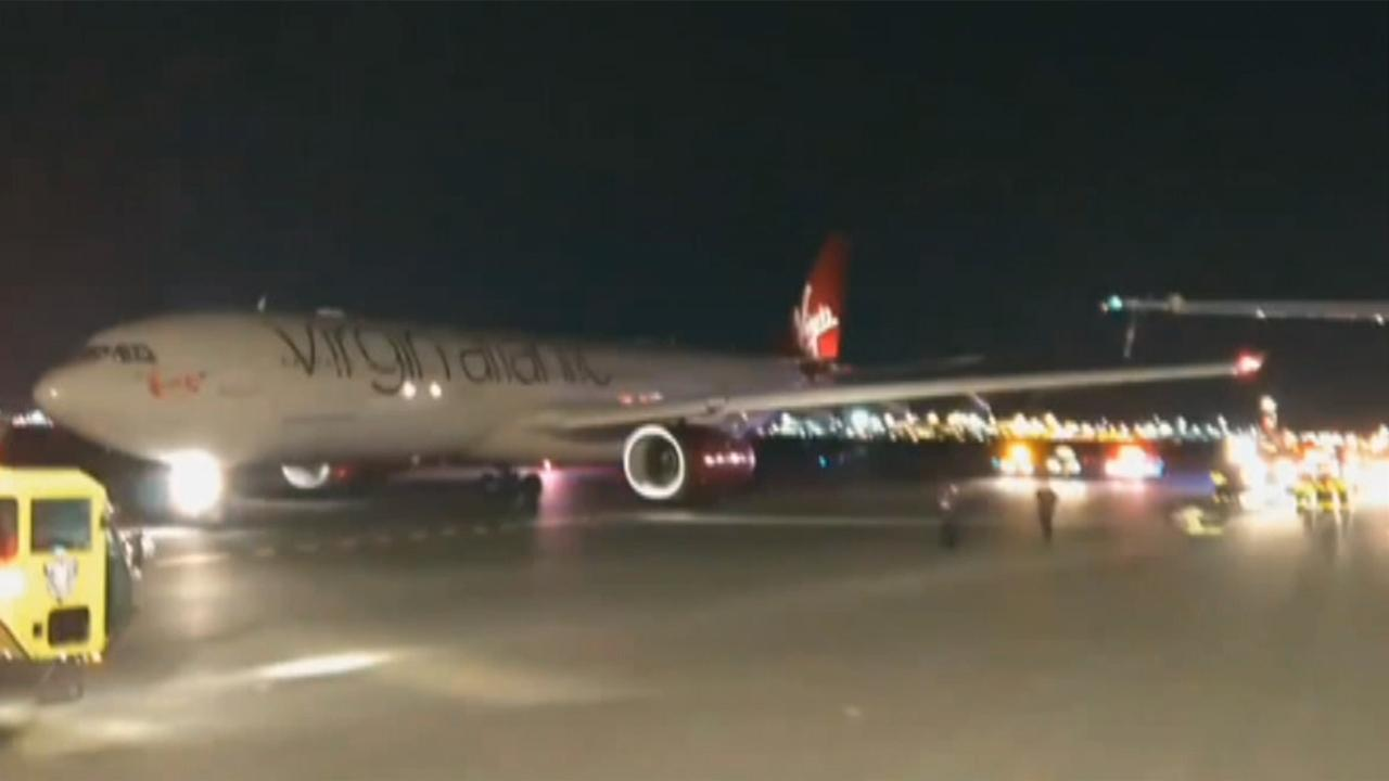Planes clip wings at JFK airport in New York City