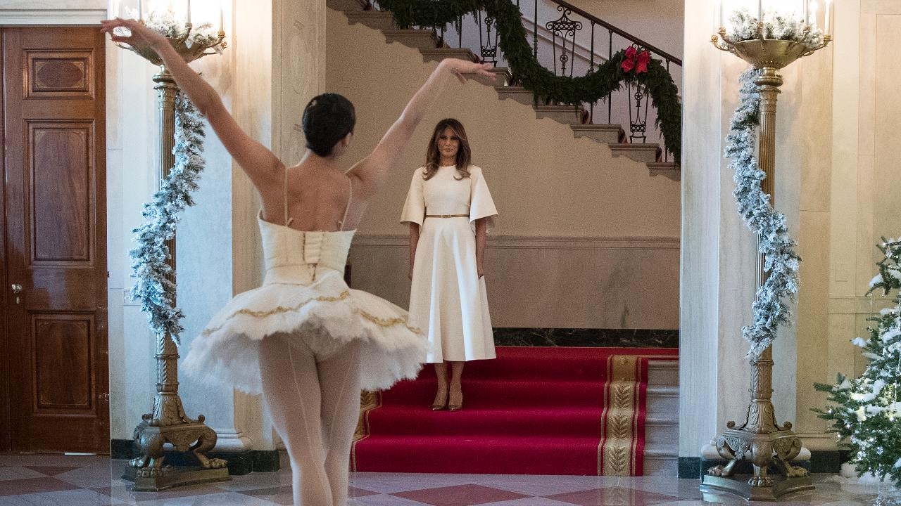 First lady Melania Trump trolled over White House Christmas