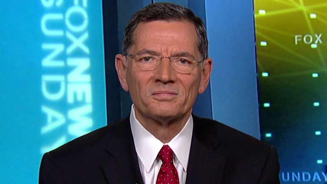 Sen. John Barrasso talks tax reform
