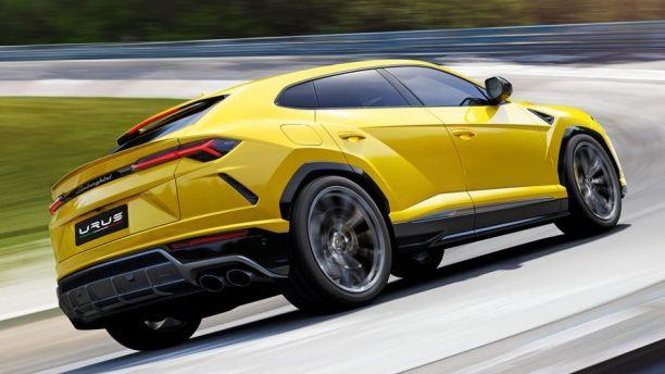 Lamborghini unveils the Urus: World's fastest SUV