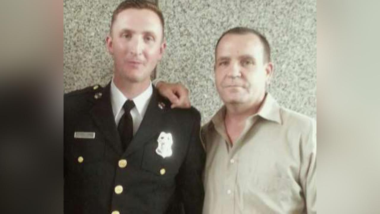 Father of Baltimore officer on his son returning to work