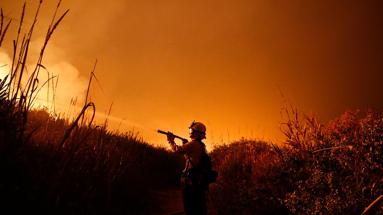 California braces for extreme winds amid wildfires
