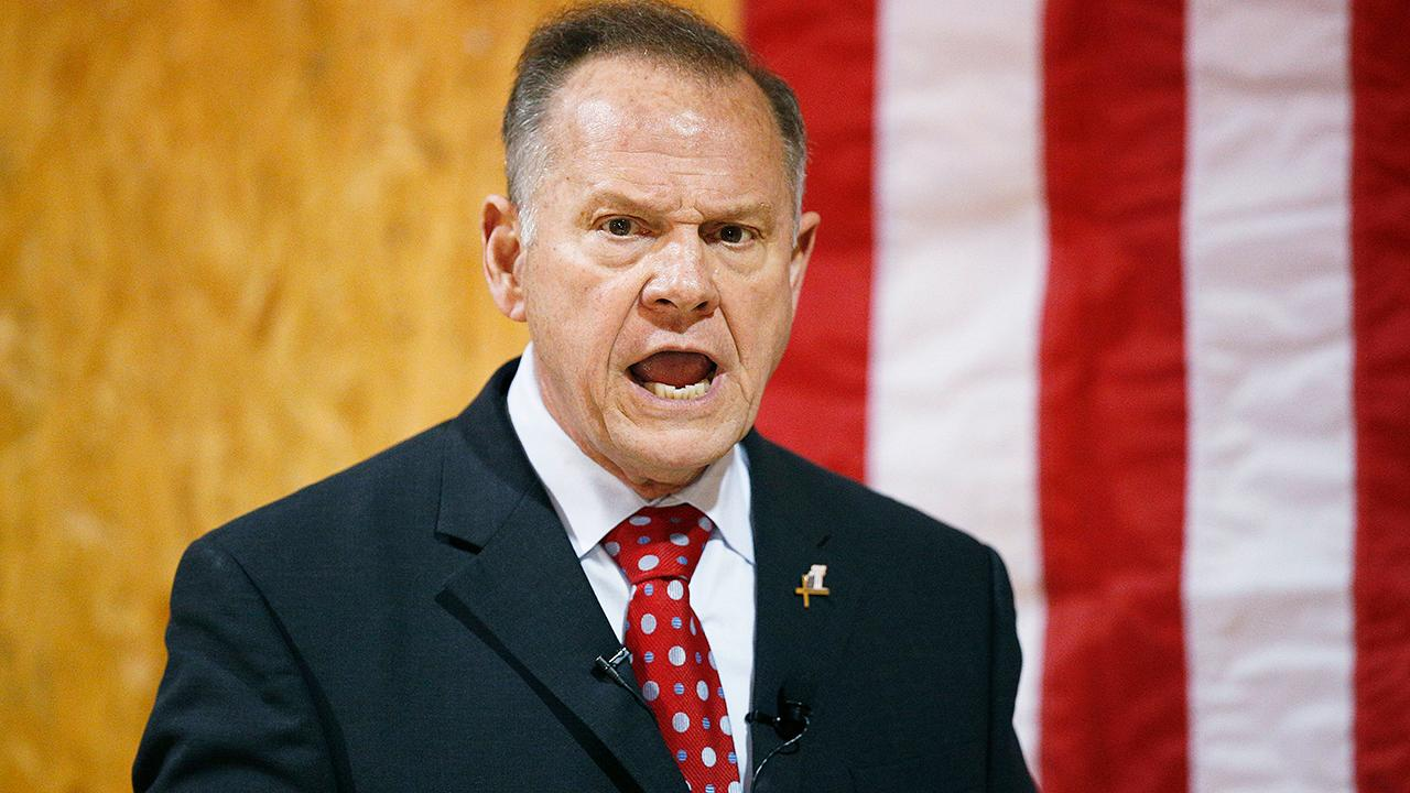 Roy Moore denies allegations of sexual misconduct