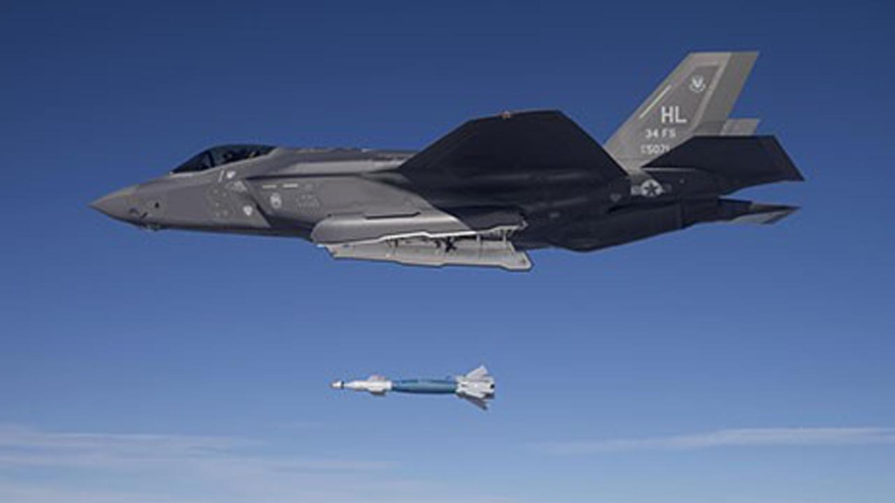 New F-35A fighter jet gets a new powerful bomb