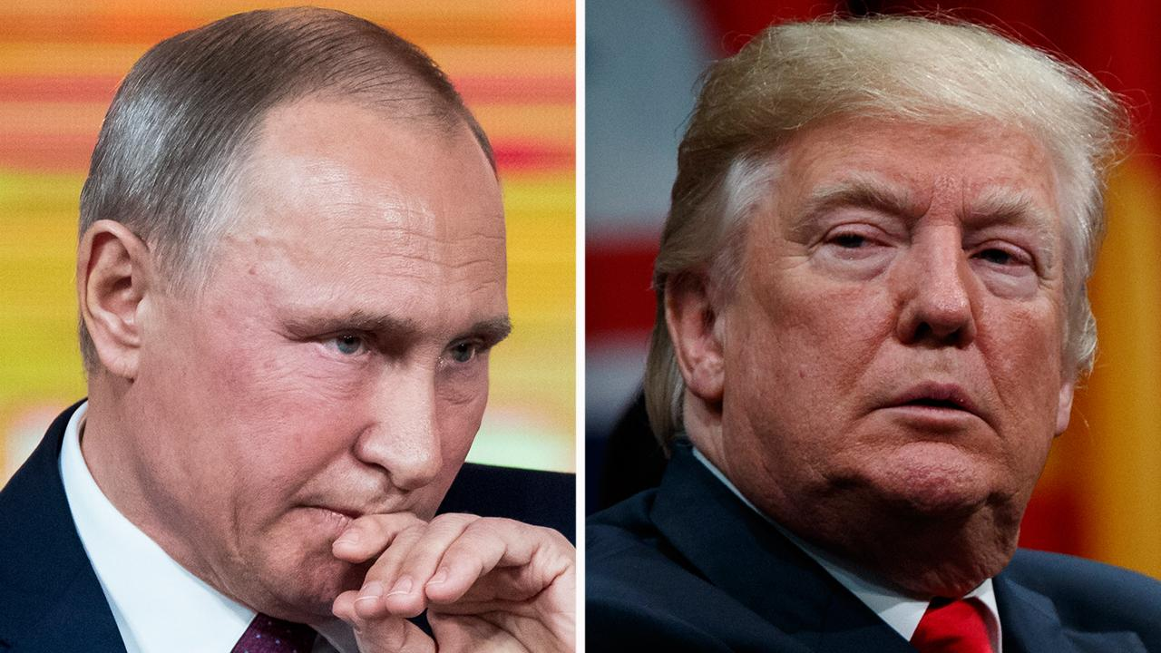 Putin thanks Trump by phone for help thwarting terror attack