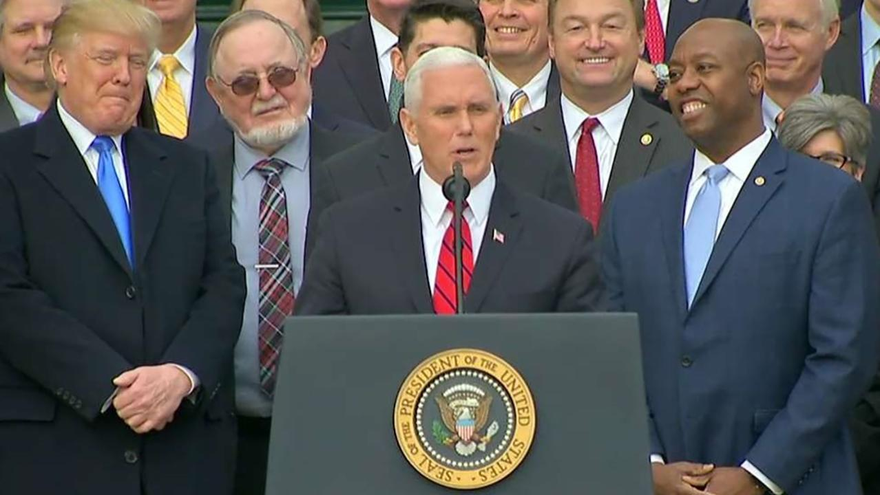 Pence: Congress passed a middle class miracle