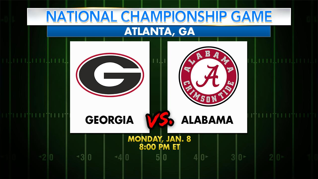 Georgia v Alabama: 2018 National Championship by the numbers