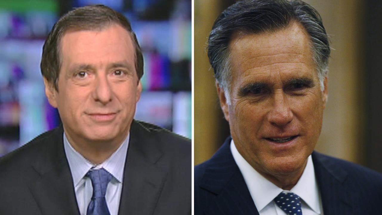 Kurtz: Why Media turned Mitt Romney into a statesman