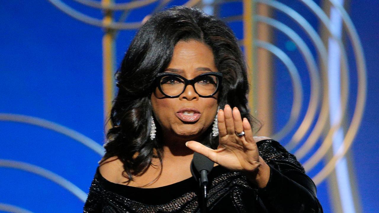 Left goes giddy over Oprah 2020