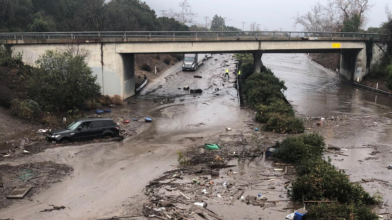 California Mudslides: What makes them so destructive?