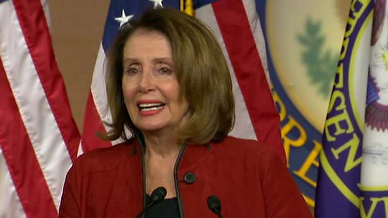 Pelosi slams DACA talk leaders as 'five white guys'