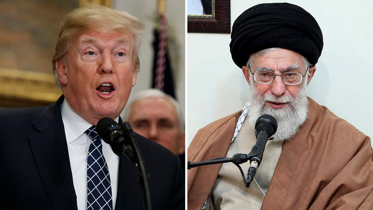 President Trump keeping Iran nuclear deal intact for now
