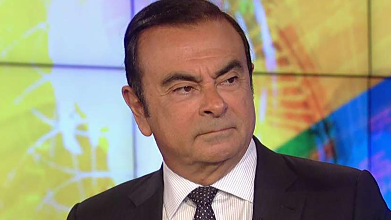 Carlos Ghosn, chairman of the Renault Nissan Mitsubishi Alliance, provides insight on 'Sunday Morning Futures.'
