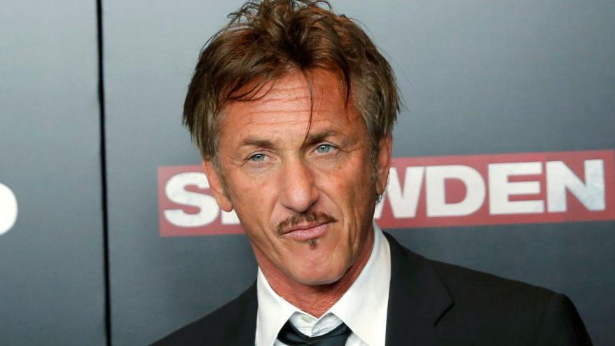 Sean Penn calls Trump an enemy of compassion, mankind
