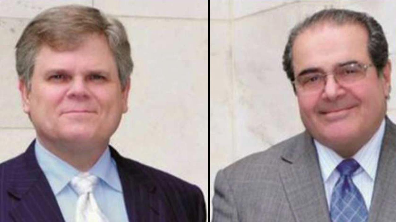 Memoir author says Scalia was 'enthusiastic' about Trump