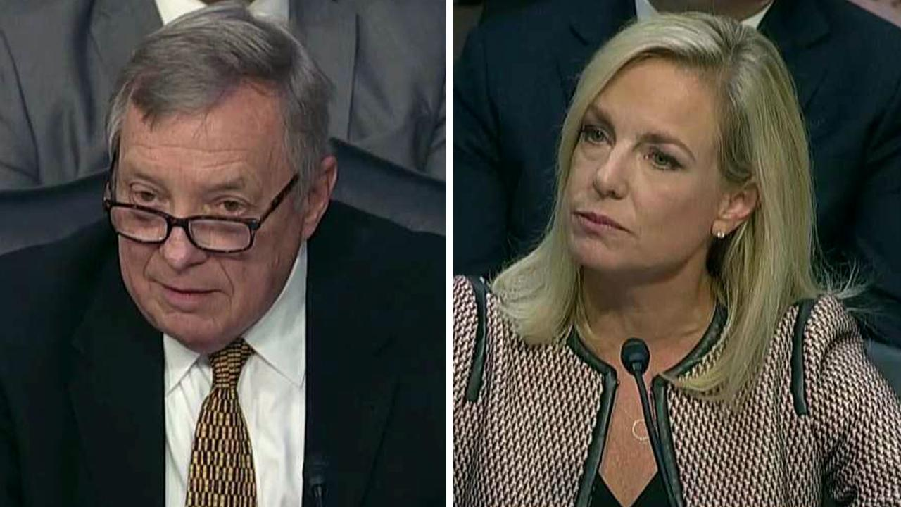 Durbin presses Nielsen over Trump's language at DACA meeting