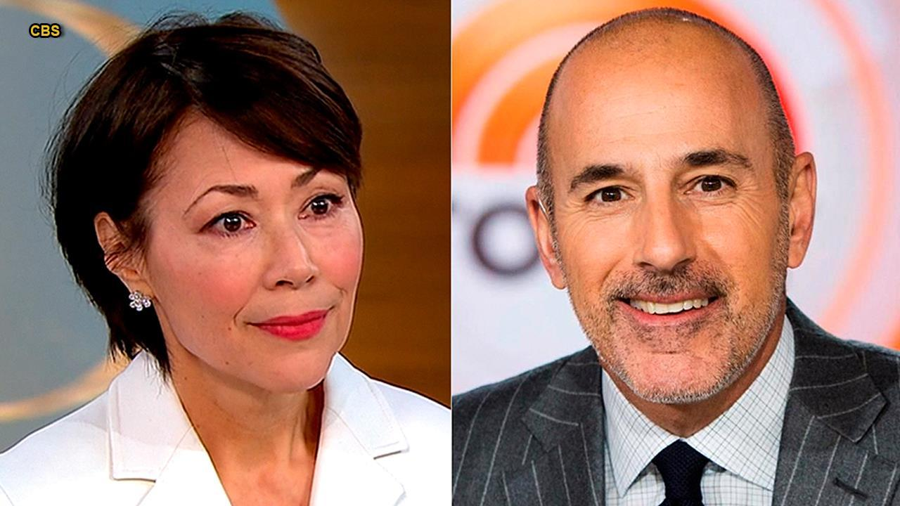 Ann Curry 'not surprised' by Matt Lauer allegations
