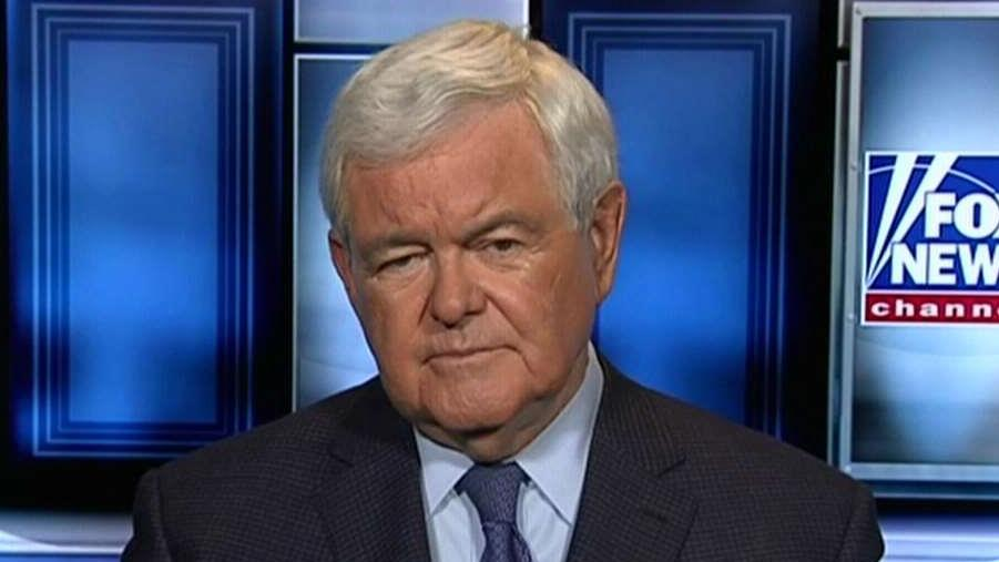 Newt Gingrich: Trump could replace White House reporters