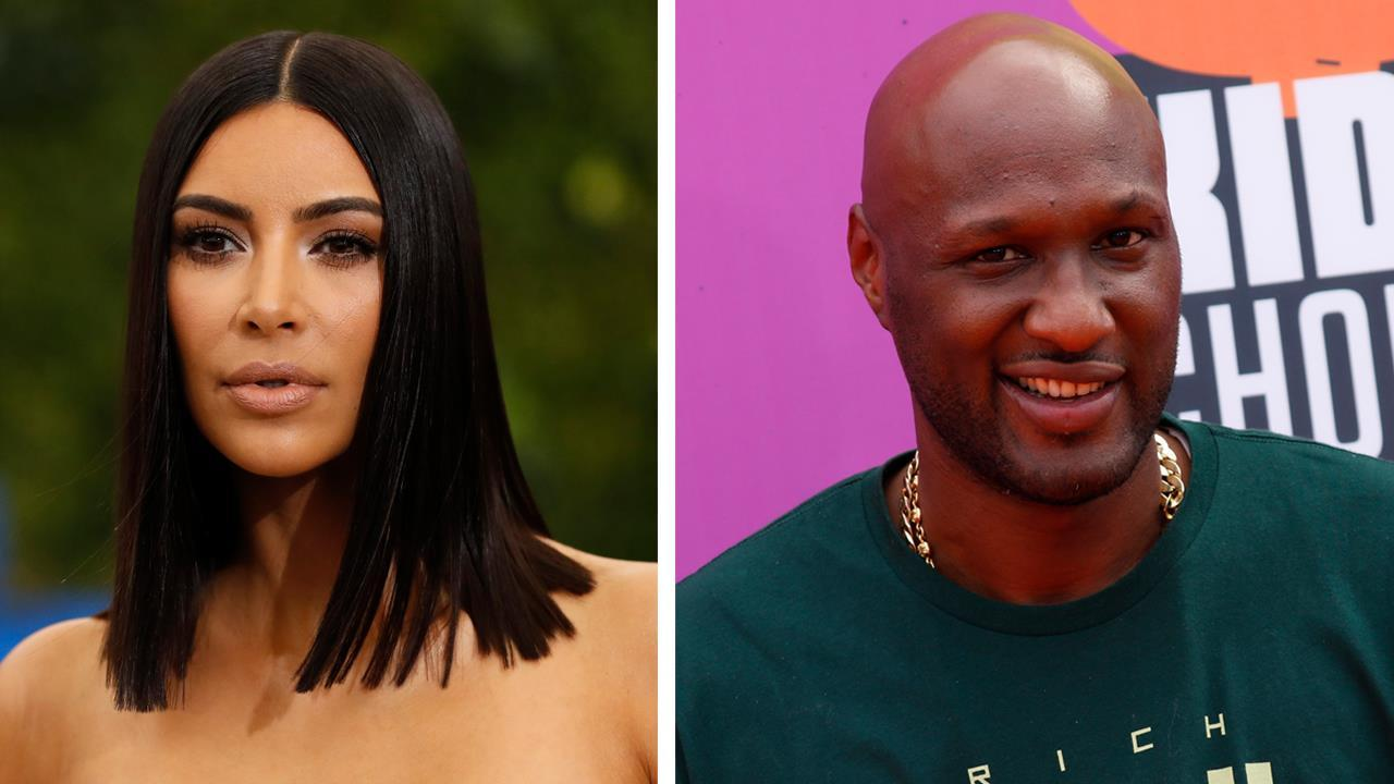 Kim Kardashian slams Lamar Odom after dig at sister Khloe