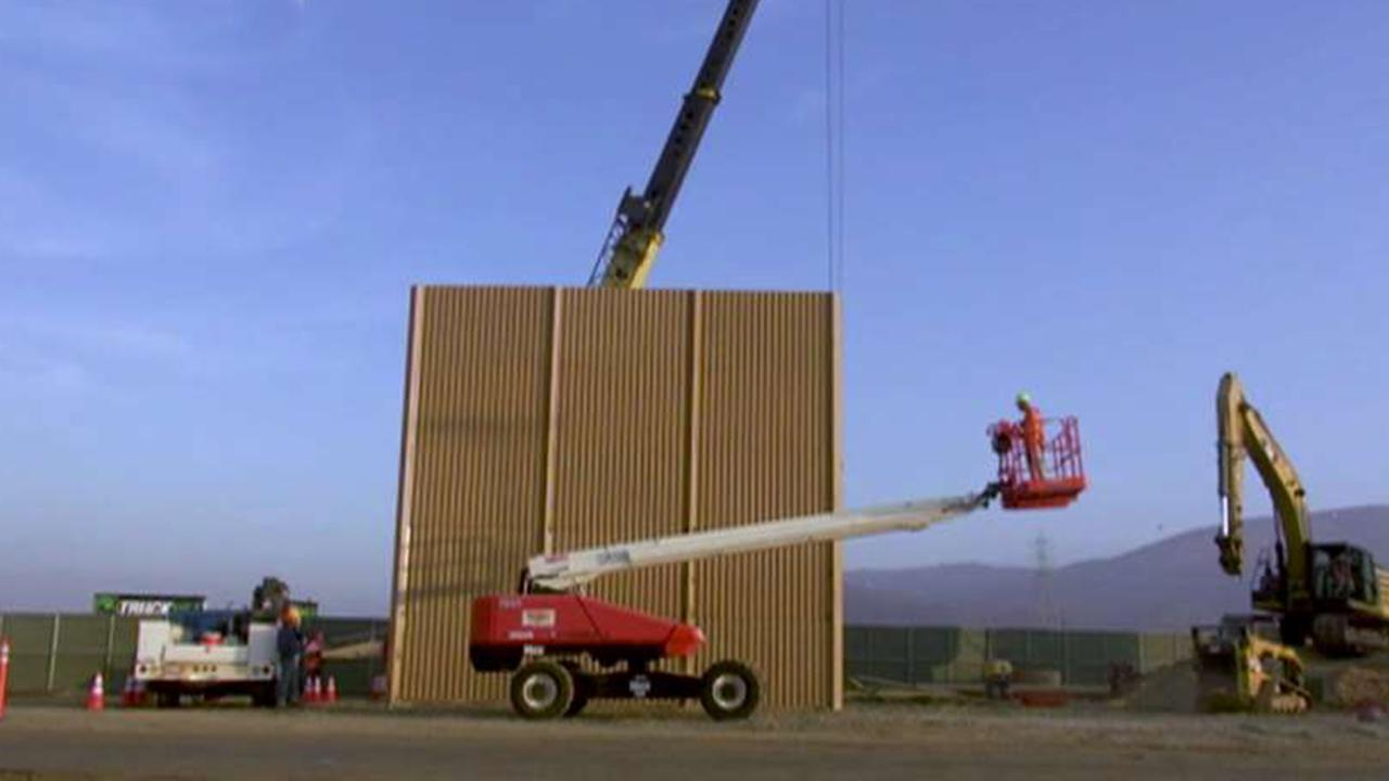 US Special Forces spend weeks testing border wall prototypes