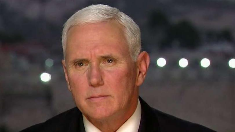 Pence: 'Peace is now more possible' after Jerusalem decision